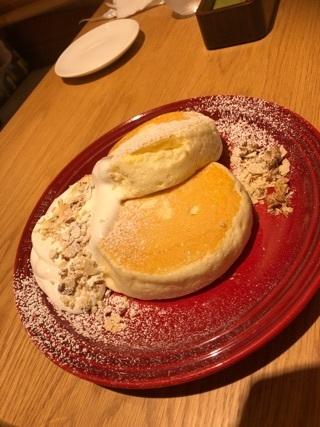 竹内 ゆう  パンケーキ